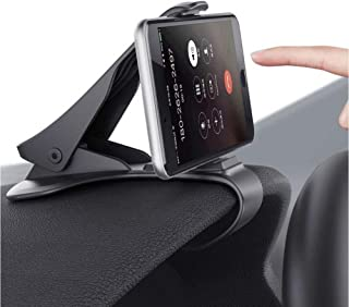 Car Phone Mount, MANORDS Durable Dashboard Cell Phone Holder Compatible for iPhone Xs Max R 8 Plus 7 Samsung Galaxy S10 E S9 S8 Plus Edge Note 9 and More
