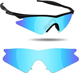 782cc3758f07 Fiskr Anti-Saltwater Polarized Replacement Lenses for Oakley M Frame Sweep  Sunglasses - Various Colors