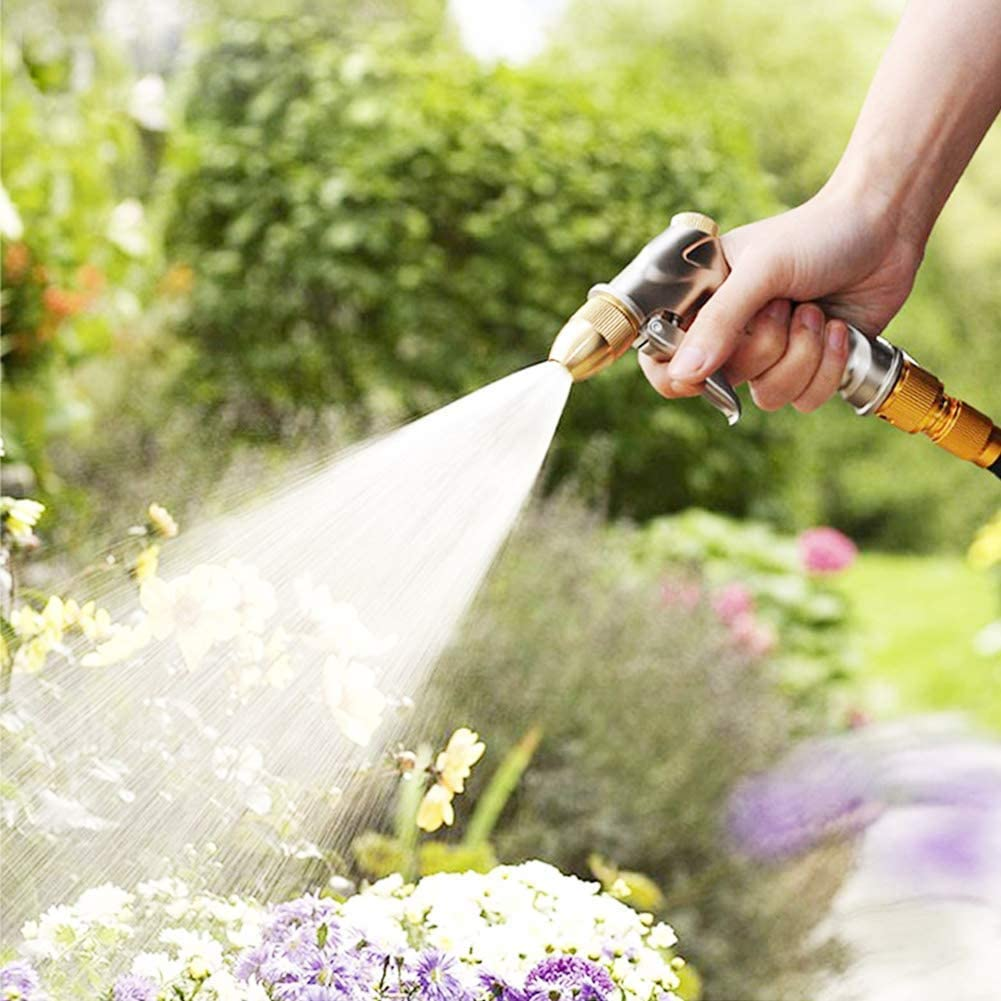 Best Overall High Pressure Garden Hose: FANHAO Upgrade Nozzle Sprayer