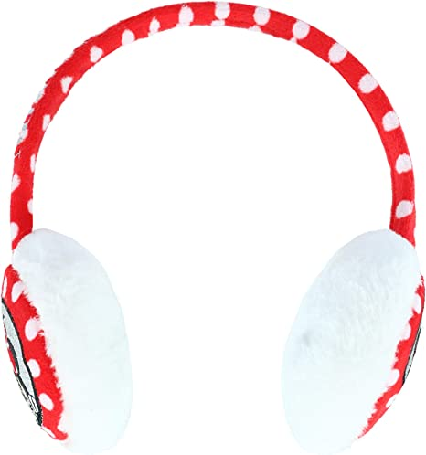 Textiel Trade Girls Polka Dot Minnie Mouse Over the Head Earmuffs