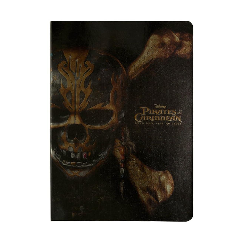 ダイゴー パイレーツ?オブ?カリビアン5 ノート B6 Golden Skull 【まとめ買い3冊セット】