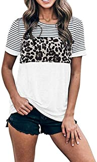 Letter Print O-Neck Short Sleeve Tees Casual Wild Simple Blouse Sweatshirts EAZsyn8 Womens T Shirts