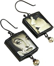 product image for Classic Screen Divas Handmade Reversible Earrings