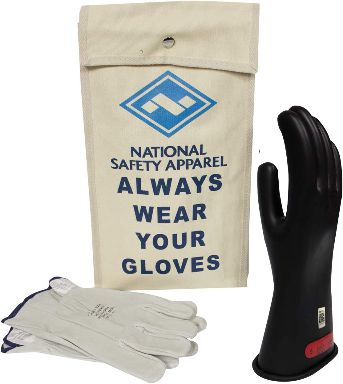 National Safety and trust Apparel Class 0 Excellent Voltage Black Insulating Rubber