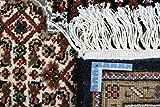 Nain Trading Indo Täbriz 237x172 Orientteppich Teppich Dunkelgrau/Dunkelbraun Handgeknüpft Indien - 2