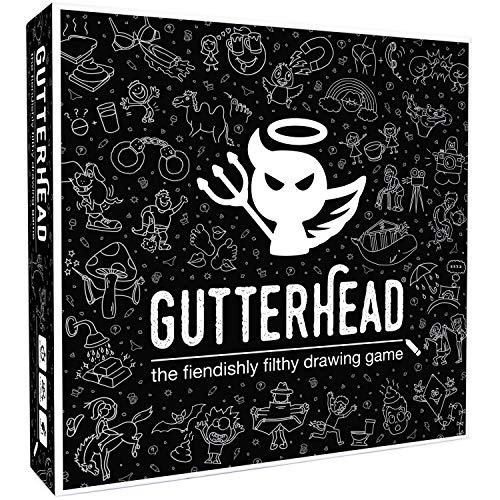 Gutterhead - The Fiendishly Filthy Drawing Game [Adult Party Game]