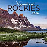 Magnificent Rockies 2020 12 x 12 Inch Monthly Square Wall Calendar, Canadian Regional Travel Canada