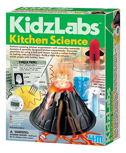 4M Kitchen Science Kit - DIY Chemistry Experiment Lab Stem Toys Gift for Kids & Teens, Boys & Girls (3806)