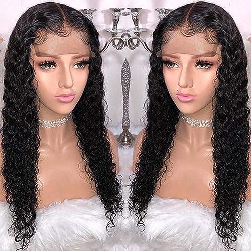 a precios asequibles LY7 Natural negro Ondulado Peluca Sintético Largo Rizado Pelucas Pelucas Pelucas Frente de Encaje Pelucas para mujer (24 Inches)  los nuevos estilos calientes