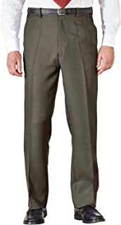 Zilcremo Mens Work Pants Straight Multi-Pockets Cargo Trousers