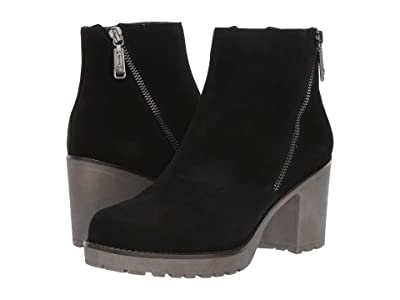 Blondo Skye Waterproof (Black Suede) Women