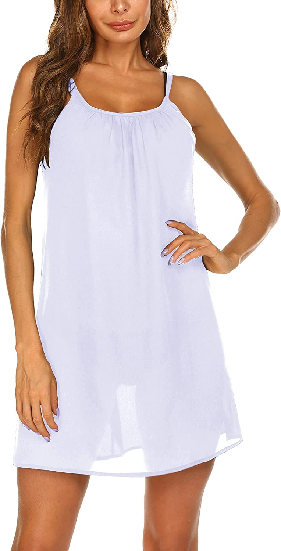 SHESHOW Women's Cover Up Chiffon Swimsuit Beach Dress Bikini Cover Ups Summer Beachwear