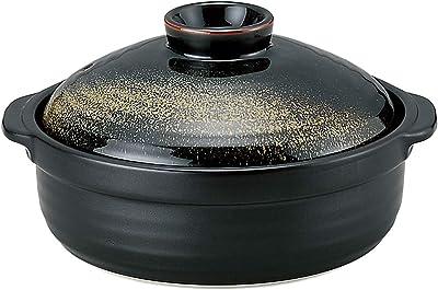 山下工芸 土鍋 陶器 32.9×28.5×16.7cm 和 なごみ 金華9号鍋 IH 15033260