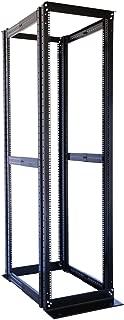 42U 19'' 4 Post Open Frame Adjustable IT Network Data Server Rack Enclosure