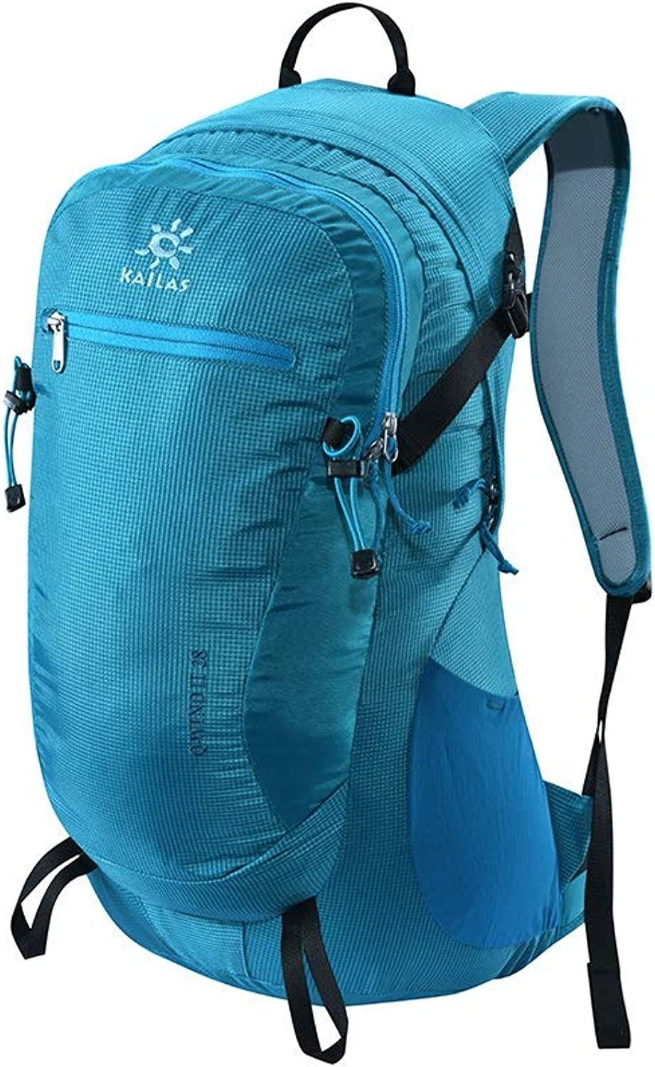 Yikuo Outdoor Sports Travel Hiking Bag 28L Light Mountaineering Backpack color bluee red Black Size 52  26  16cm Premium Sports Backpack (color   bluee)