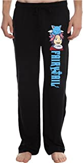 RBST Men's Natsu and Happy Fairy Tail Anime Running Workout Sweatpants Pants