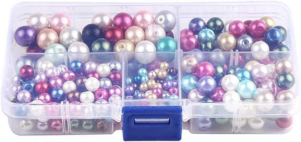 SANGHAI Mixed Color Pearls Colorful Jewell Louisville-Jefferson County Mall Regular dealer Round Pearl for Beads