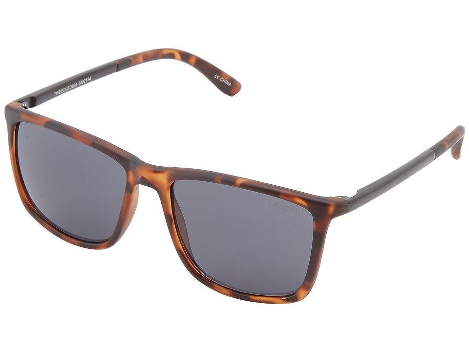 Le Specs Tweedledum (Tortoise) Fashion Sunglasses