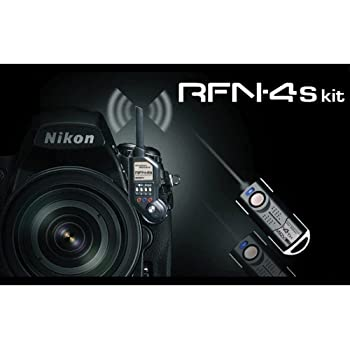 RFN-4s Wireless Remote Shutter Release for Nikon DSLR with MC30 Type Connection (Nikon D200, D300, D300s, D500, D700, D800, D800E, D810, D1, D2, D3, D3x, D3s, D4, D5) - Transmitter and Receiver Set