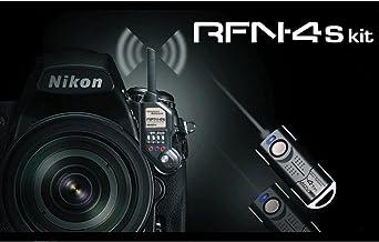 RFN-4s Wireless Remote Shutter Release for Nikon DSLR with MC30 Type Connection (Nikon D200, D300, D300s, D500, D700, D800...