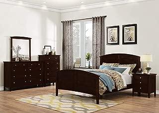 GTU Furniture Transitional Styling Metro 5Pc King Bedroom Set(K/D/M/N/C)