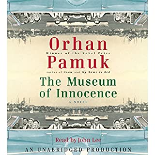 The Museum of Innocence audiobook cover art