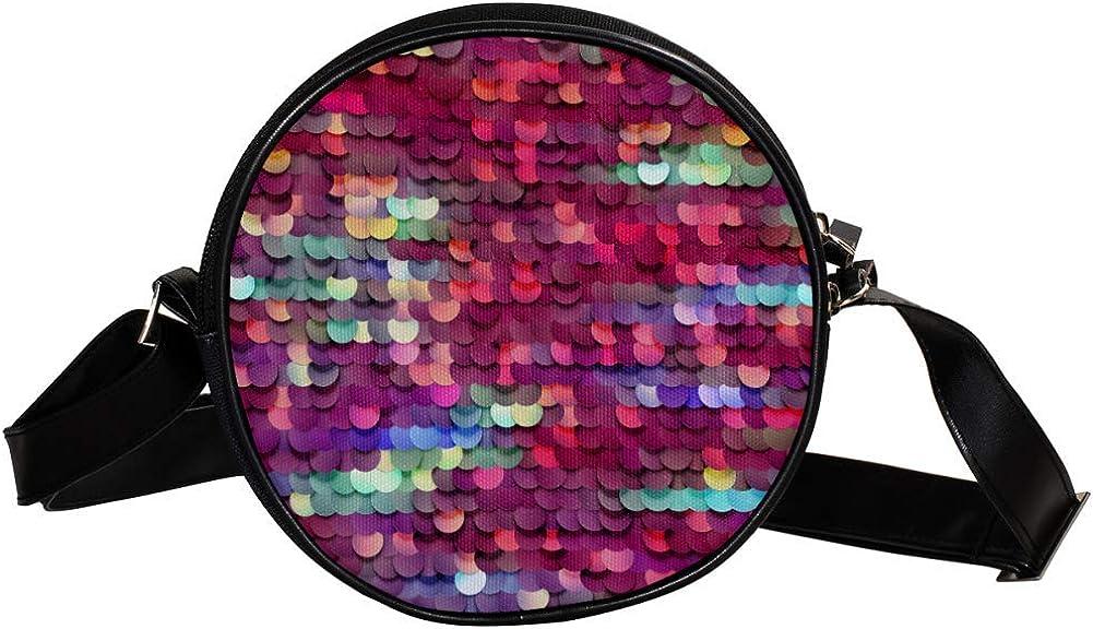 Coin Super intense SALE Purse For Kids Purple Max 61% OFF Sequins Girls Wall Crossbody Mini Bag