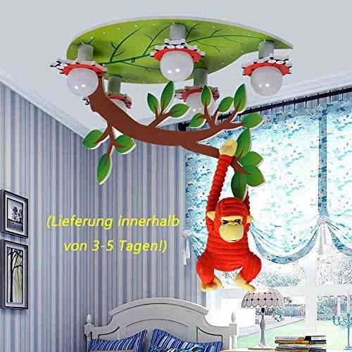 Kinder-Deckenleuchten-- Jungen und Mädchen Kinderzimmer Lampen Augenschutz LED-Beleuchtung Kinderzimmer Schlafzimmer Karikatur Decke --Efficiency:A+++ ( farbe : Segmentierung )