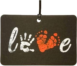 Love Palmprint/Footprint Car Air Freshener