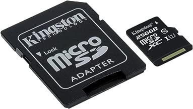 キングストン microSDカード Class 10 256GB UHS-I 【Nintendo Switch 動作確認済】 アダプタ付 Canvas Select SDCS/256GB