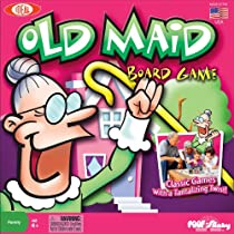 POOF-Slinky 0C688 Ideal Old Maid Board Game