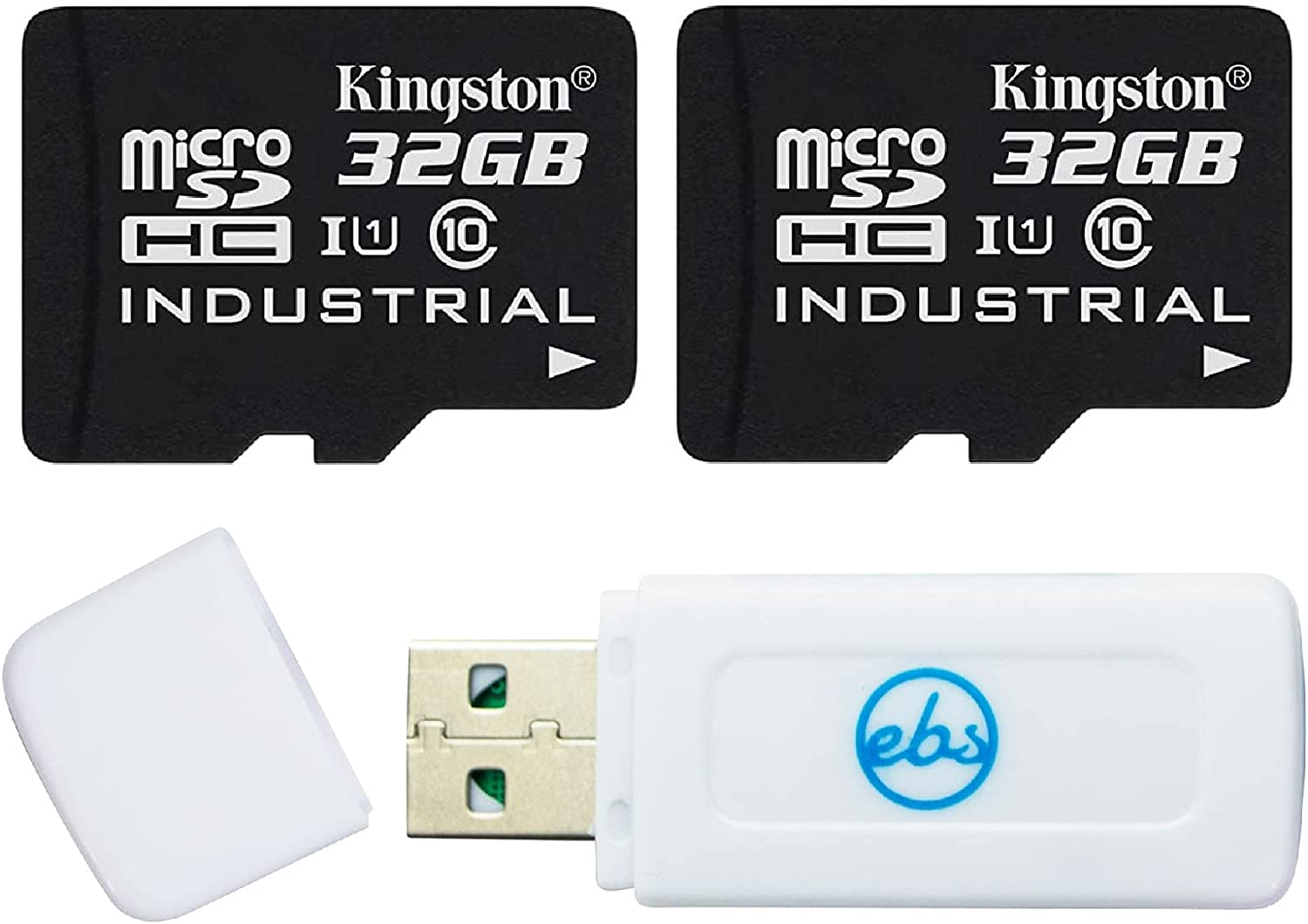 Kingston 32GB Cheap bargain Micro SD Card Industrial Grade Adapt Ranking TOP2 Pack 2 with