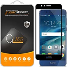 (2 Pack) Supershieldz for Huawei (Honor 8) Tempered Glass Screen Protector, (Full Screen Coverage) 0.33mm, Anti Scratch, B...