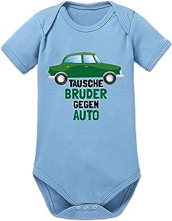 Shirtcity Tausche Bruder Gegen Auto Baby Strampler by