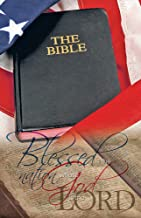 Anchor Wallace Publishers 73947 Bulletin - Blessed Is The Nation Whose God Is The Lord & Bible & Flag