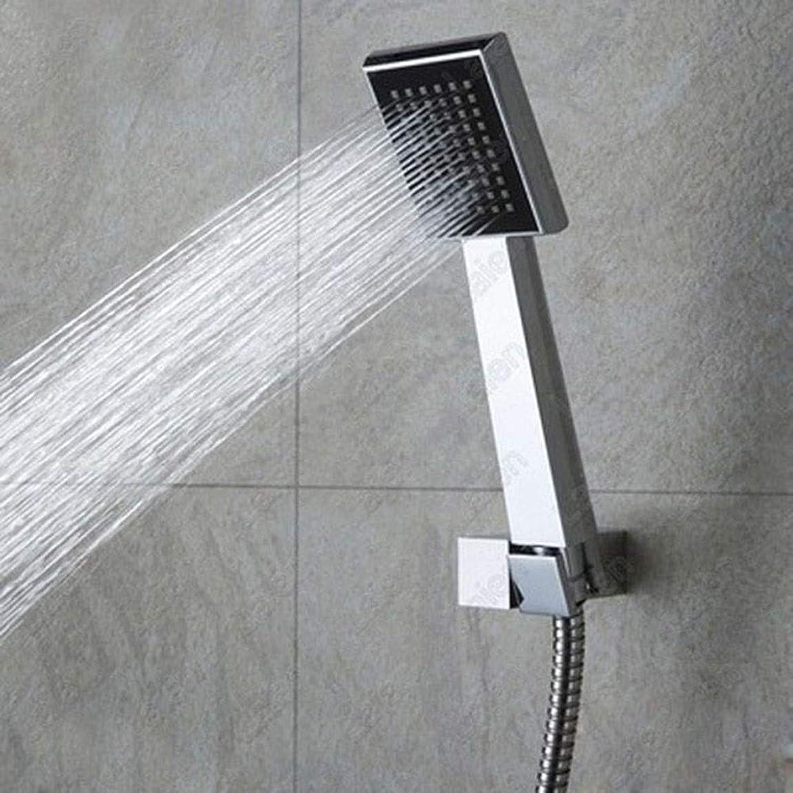 住人ことわざ魔法浴室設備 蛇口多機能シャワー8インチABSメッキプラスチックトップスプレーブラケットスプリンクラーシャワーセットで隠されたすべての銅