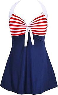 Summer Mae Donna Costume da Bagno di Un Pezzo Vintage Sailor Pin Up