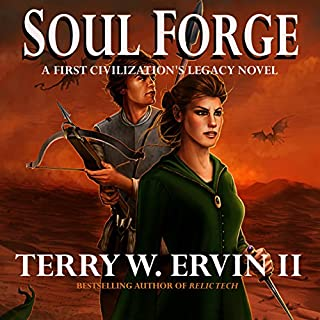 Soul Forge audiobook cover art