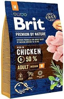 BRIT Premium Croquette pour Chien Adulte 3 kg Taille M