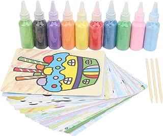 Simlug DIY Pintura en Color Arena Dibujo Niños Color