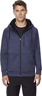 Mens Fleece Tech Sherpa Lined Hoodie