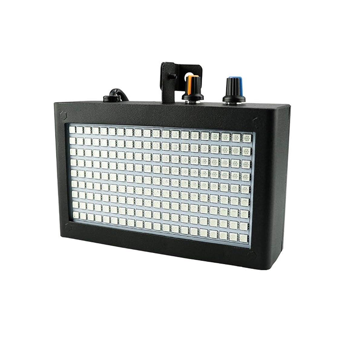 マラドロイトレディ違反する180 LEDストロボライトミニステージライトパーティーにDJ照明KTVは7色ストロボライトRomote制御(色光)を点滅します