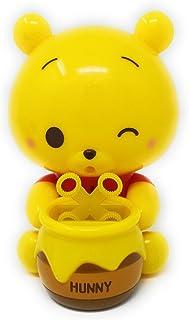 クマのプーさん くるくる 電動式シャボン玉メーカー シャボン玉 しゃぼん玉 しゃぼん シャボン玉製造機 プーさん 電動式 (ウインク)