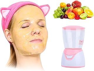 دستگاه ماسک صورت ، ماسک کلاژن سبزیجات میوه ای ساخت دستگاه مینی DIY کرم صورت اتوماتیک با کپسول کلاژن ساخت ماسک 32 عددی