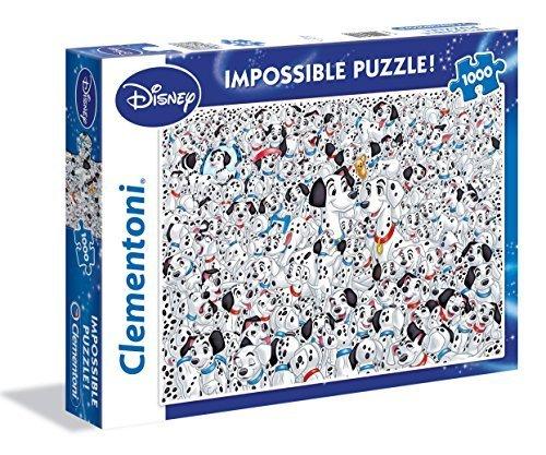 101 Dalmatians Impossible 1000pc Jigsaw Puzzle by Clementoni