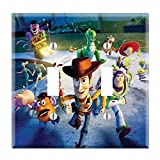 Dual Toggle Wall Switch Cover Plate Decor Wallplate - Toy Story