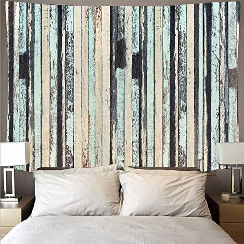 Tapiz de madera tapiz de arte retro hippie colgante de pared habitación tablón de pared patrón tapiz tela de fondo A5 180x230cm