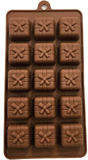 Gift Box Pattern Silicone Mould Cake Decor Chocolate Desserts Mold Cake Tool Bakeware Baking Pastry Tools Kitchen Gadgets