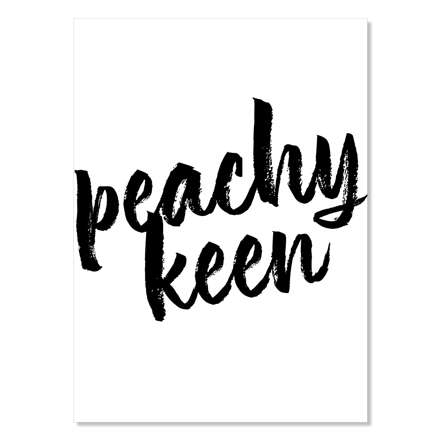 Peachy sold out Industry No. 1 Keen Print Unframed