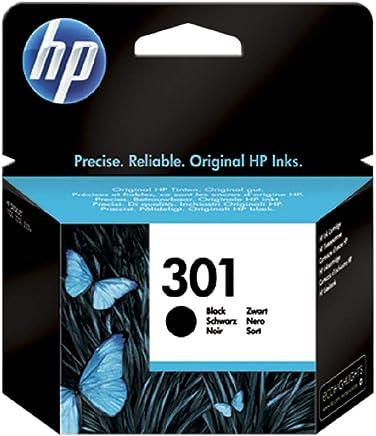 HP 301 Nero CH561EE Cartuccia Originale per Stampanti HP a Getto di Inchiostro, Compatibile con Stampanti HP DeskJet 1050, 2540 e 3050, HP OfficeJet 2620 e 4630, HP ENVY 4500 e 5530